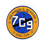 USS HYMAN G. RICKOVER Button