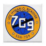 USS HYMAN G. RICKOVER Tile Coaster