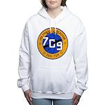 USS HYMAN G. RICKOVER Women's Hooded Sweatshirt
