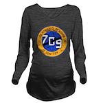 USS HYMAN G. RICKOVE Long Sleeve Maternity T-Shirt