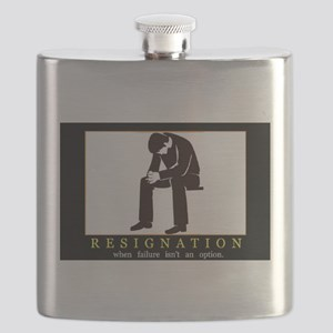 Resignation Flask