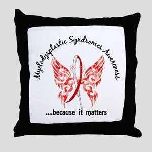 MDS Butterfly 6.1 Throw Pillow