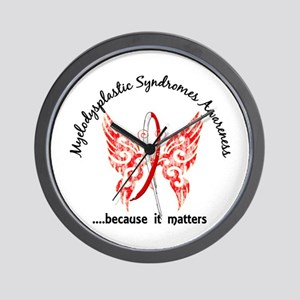 MDS Butterfly 6.1 Wall Clock