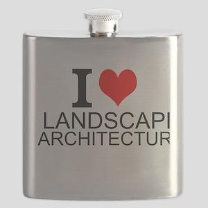 I Love Landscape Architecture Flask
