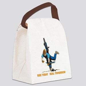 Ride Today Biking Canvas Lunch Bag