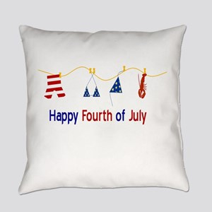 July Fourth Swimsuits Everyday Pillow