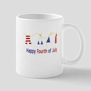 July Fourth Swimsuits Mugs
