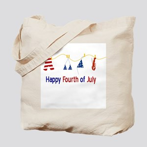 July Fourth Swimsuits Tote Bag