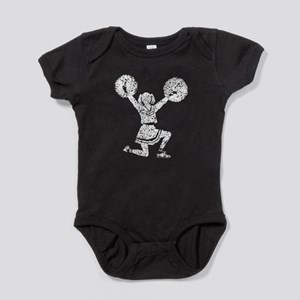 Distressed Cheerleader Baby Bodysuit
