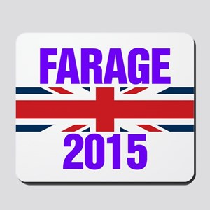 Nigel Farage 2015 General Election Mousepad