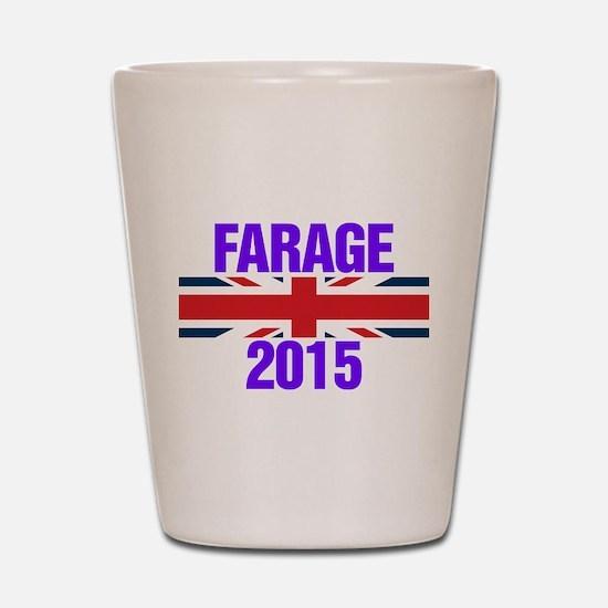 Nigel Farage 2015 General Election Shot Glass
