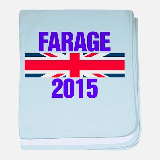 Nigel Farage 2015 General Election baby blanket