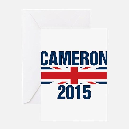 David Cameron 2015 Greeting Cards