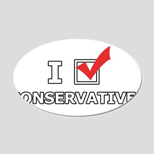I Vote Conservatives Wall Sticker