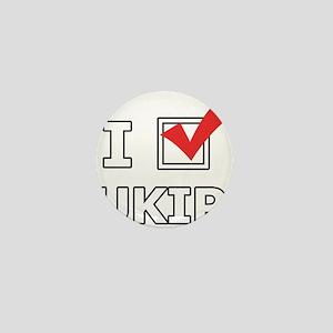 I Vote UKIP Mini Button
