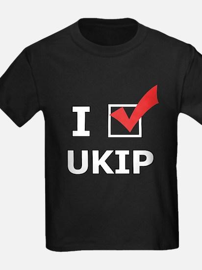 I Vote UKIP T-Shirt