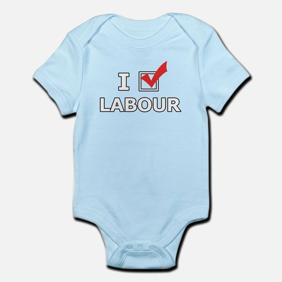 I Vote Labour Body Suit