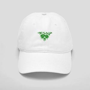 Green Pinecones Cap