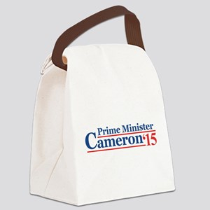Cameron 15 Prime Minister Canvas Lunch Bag