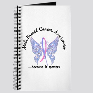 Male Breast Cancer Butterfly 6.1 Journal