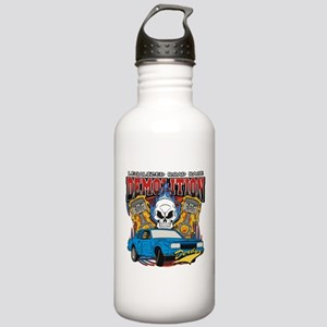 Demolition Derby Stainless Water Bottle 1.0L