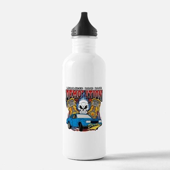 Demolition Derby Water Bottle