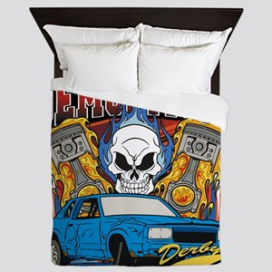 Demolition Derby Queen Duvet