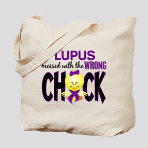 Lupus MessedWithWrongChick1 Tote Bag