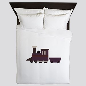 Train Engine Queen Duvet