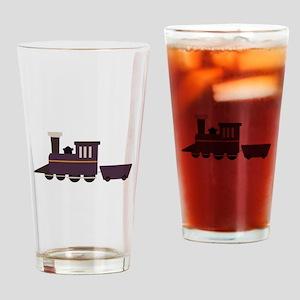 Train Engine Drinking Glass