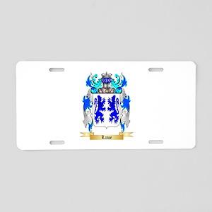 Lawe Aluminum License Plate