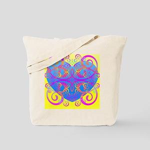 Love Swirls Tote Bag