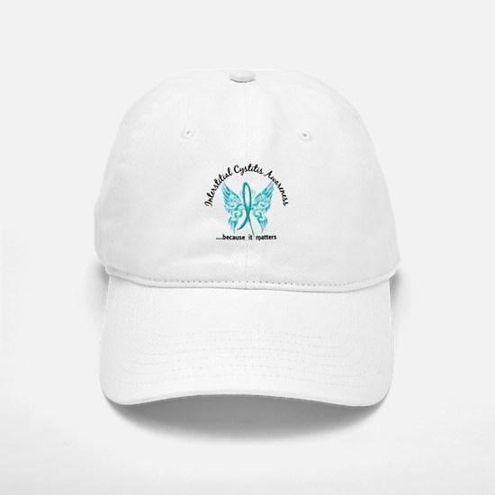 Interstitial Cystitis Butterfly 6.1 Baseball Baseball Cap