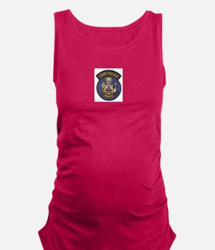 Maine State Police Maternity Tank Top