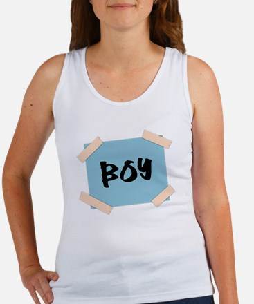 Boy Sign Women's Tank Top