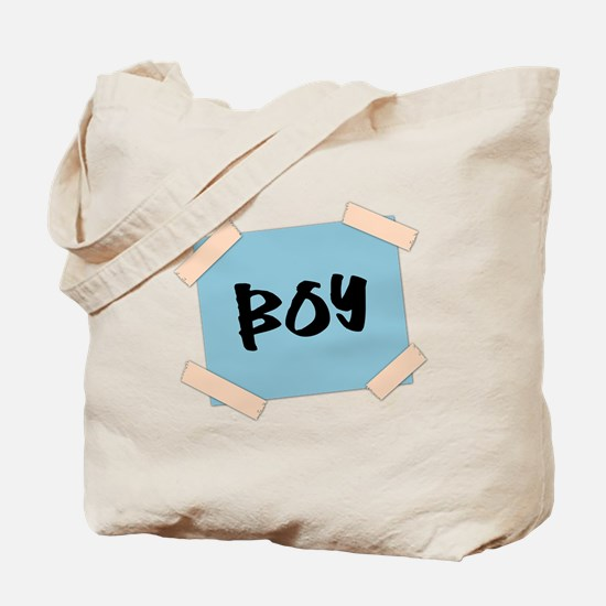 Boy Sign Tote Bag