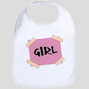 Girl Sign Bib