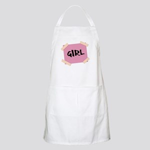 Girl Sign Apron