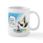 Worm And Bird Mugs