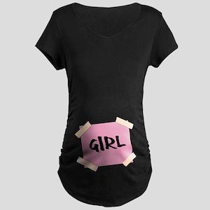 Girl Sign Maternity T-Shirt