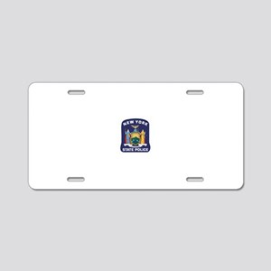 NYS Police Aluminum License Plate