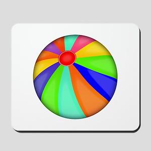 Colorful Beach Ball Mousepad