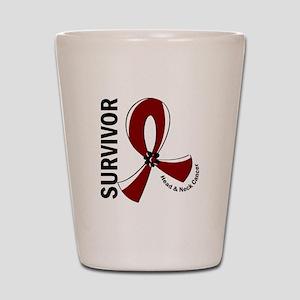 Head Neck Cancer Survivor 12 Shot Glass