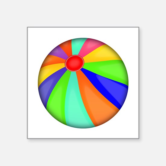 Colorful Beach Ball Sticker