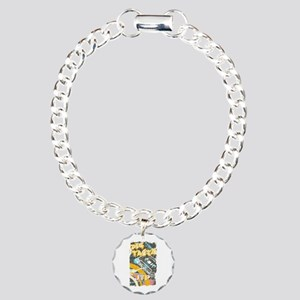 Retro Big Tasty Charm Bracelet, One Charm