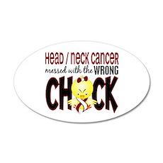 Head Neck Cancer MessedWithW Wall Sticker