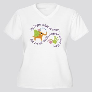 My fingers might be small, but I Plus Size T-Shirt