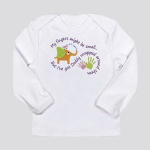 My fingers might be small, but Long Sleeve T-Shirt