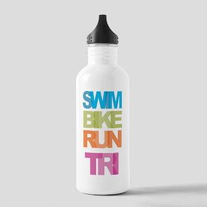 SWIM BIKE RUN TRI Stainless Water Bottle 1.0L
