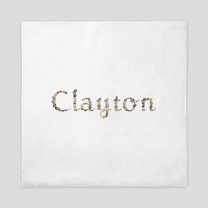 Clayton Seashells Queen Duvet